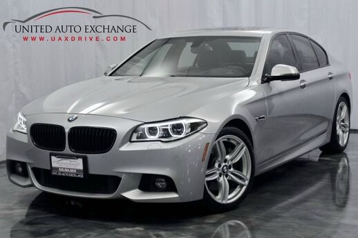 2015 BMW 5 Series 3.0L V6 Engine 535i AWD xDrive **M Sport Package** w/ Navigation, Sunroof, Bluetooth Connectivity, USB & AUX Input, Harman Kardon Premium Sound System, Front and Rear Parking Aid with Rear View Camera Addison IL