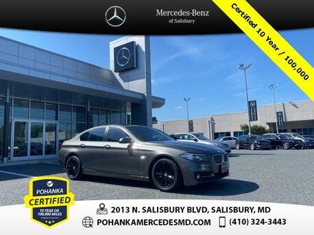 2015_BMW_5 Series_528i xDrive ** Pohanka Certified 10 year / 100,000 **_ Salisbury MD