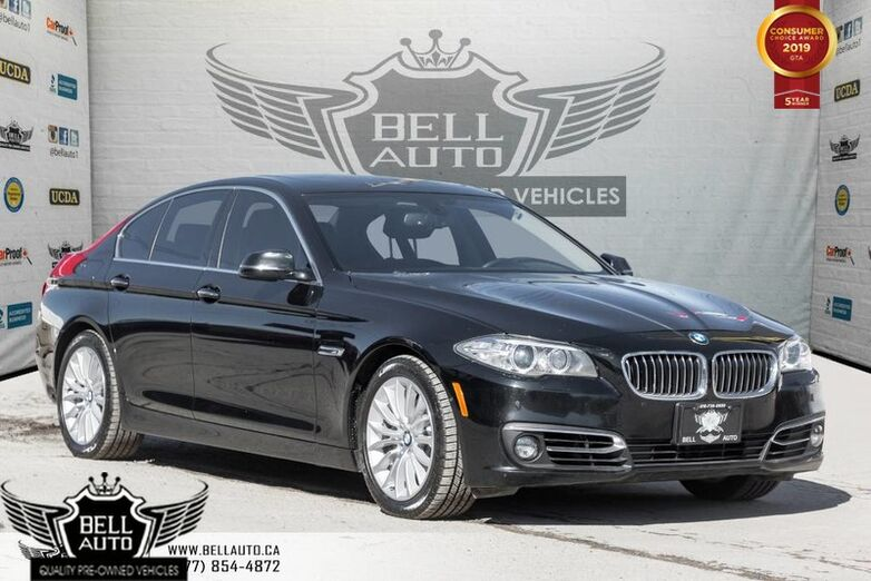 2015 BMW 5 Series 528i xDrive, PREMIUM PKG, NAVI W/ MEMORY, BACK-UP CAM, MOONROOF Toronto ON