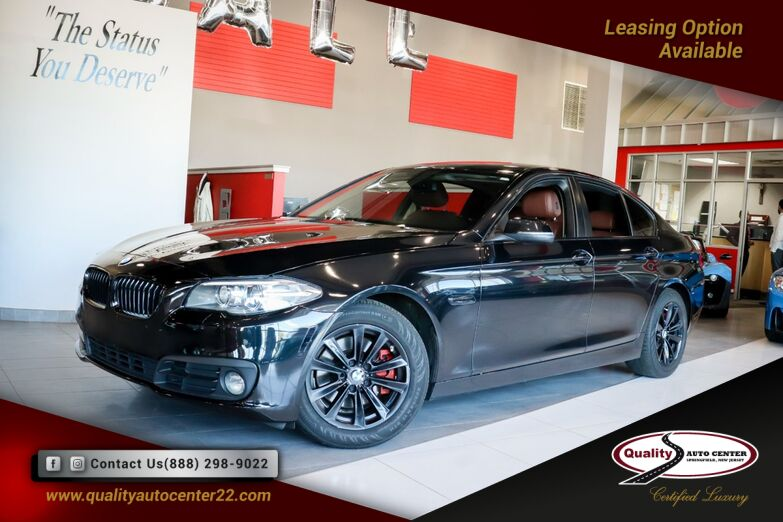 2015 BMW 5 Series 528i xDrive Premium and Cold Weather Pkg Brown Interior Springfield NJ