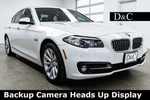 2015 BMW 5 Series 535d Backup Camera Heads Up Display