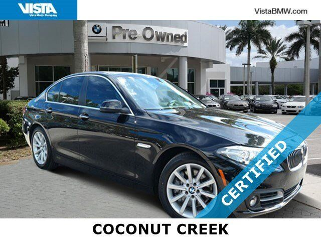 2015 BMW 5 Series 535i Coconut Creek FL
