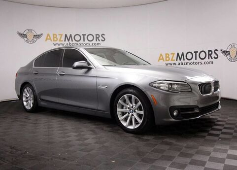 2015 BMW 5 Series 535i HUD,Navigation,Camera,Rear Shades,Push Start Houston TX