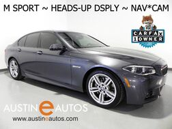 2015_BMW_5 Series 535i_*M SPORT, HEADS-UP DISPLY, BLIND SPOT ALERT, LANE DEPARTURE ALERT, NAVIGATION, NAPPA LEATHER, CONTOUR SEATS, LIGHTING PKG, SIDE/TOP/REAR CAMERAS_ Round Rock TX