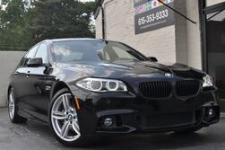BMW 5 Series 535i M Sport Pkg/Navigation w/ IDrive Touchpad, HUD/Premium Pkg w/ Comfort Access/Heated Seats/Driver Assistance Pkg w/ Rear-View Camera, PDC/Adaptive Lighting Pkg/Ambiance Lighting/Carbon Fiber Rear Spoiler 2015