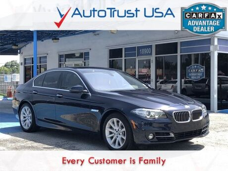 2015 BMW 5 Series 535i Miami FL
