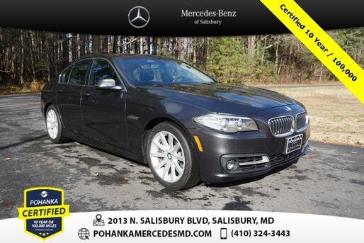 2015_BMW_5 Series_535i xDrive ** Pohanka Certified 10 Year / 100,000  **_ Salisbury MD