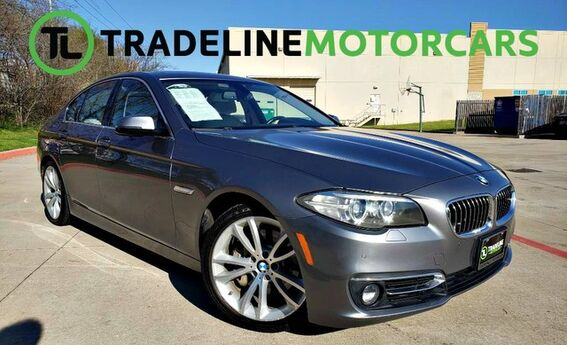 2015 BMW 5 Series 535i xDrive LEATHER, NAVIGATION, REAR VIEW CAMERA, AND MUCH MORE!!! CARROLLTON TX