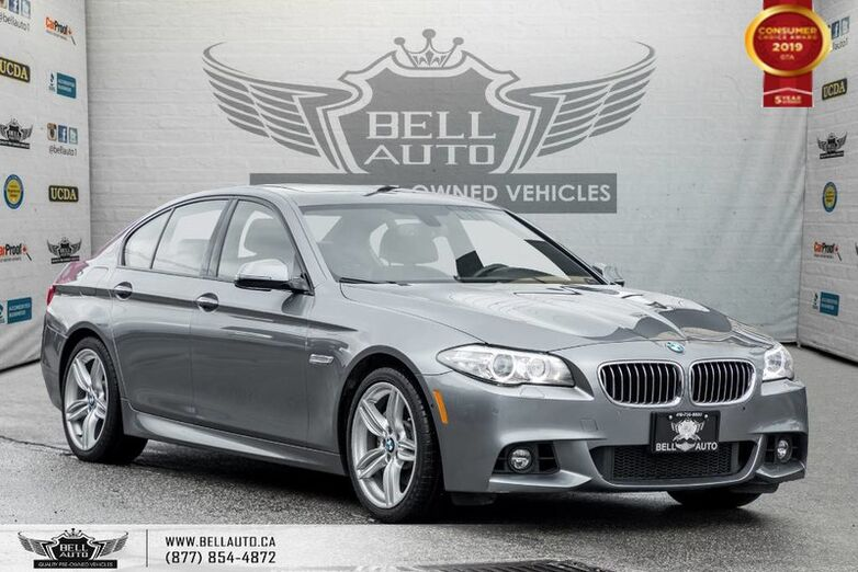 2015 BMW 5 Series 535i xDrive, M PKG, AWD, NO ACCIDENT, NAVI, BACK-UP CAM, SENSORS Toronto ON