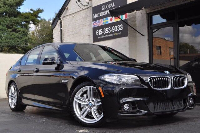 2015 BMW 5 Series 535i xDrive/M Sport/ Nav/Harmon Kardon/Heated Wheel Nashville TN