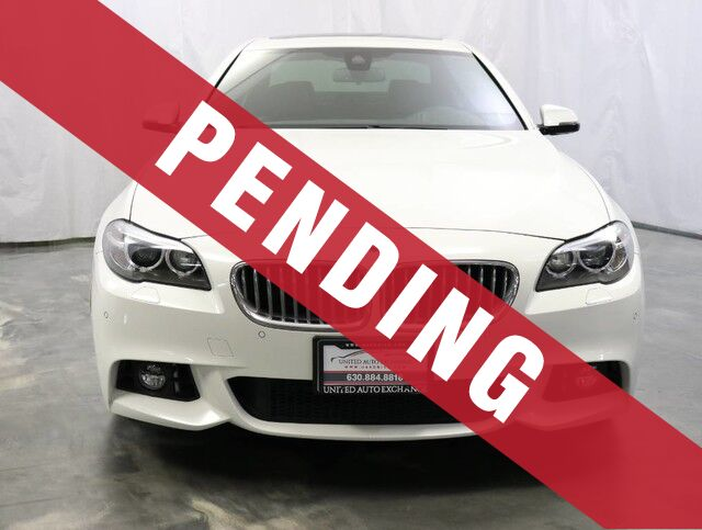 2015 BMW 5 Series 550i xDrive M-Sport Package AWD/ Loaded With Options / Very Low Miles Addison IL