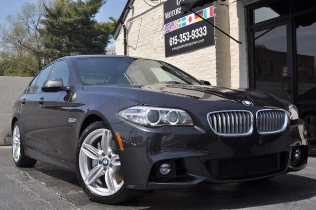 2015 BMW 5 Series 550i xDrive/M Sport Package/Premium Package w/ Comfort Access/Executive Package w/ Soft Close Doors/Driver Assistance Plus Package w/ HUD/Lighting Package/Cold Weather Package/HK Audio Nashville TN