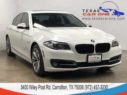 2015_BMW_528i_NAVIGATION SUNROOF LEATHER HEATED SEATS REAR CAMERA KEYLESS START BLUETOOTH_ Carrollton TX