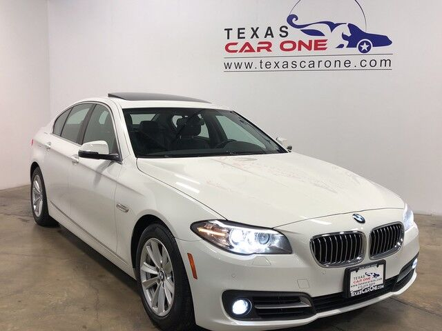 2015 BMW 528i xDrive AWD NAVIGATION SUNROOF LEATHER SEATS HEATED SEATS KEYLESS START REAR CAMERA Carrollton TX