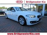 2015 BMW 528i xDrive Sedan, Premium Package, Navigation, Rear-View Camera, Bluetooth Streaming Audio, Heated Leather Seats, Power Sunroof, 17-Inch Alloy Wheels,