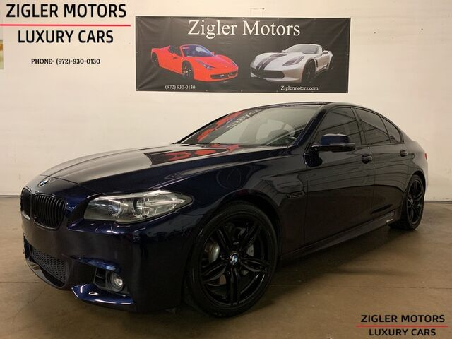2015 BMW 535i M Sport Line One Owner Clean Carfax Driver Assistance HUD Backup Camera Addison TX