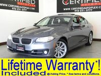 BMW 535i NAVIGATION SUNROOF HEADS UP DISPLAY REAR CAMERA PARK ASSIST HEATED LEATHER 2015