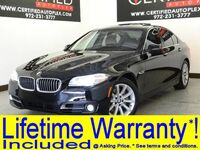 BMW 535i PREMIUM PKG DRIVER ASSIST PKG NAVIGATION HEADS UP DISPLAY SUNROOF LEATHER 2015