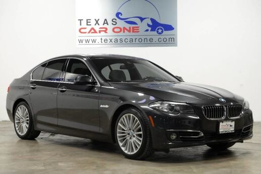 2015 BMW 550i LUXURY LINE DRIVER ASSIST PLUS PKG EXECUTIVE PKG LUXURY SEATING Carrollton TX