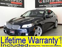 BMW 550i M SPORT PKG DRIVER ASSIST PLUS NAVIGATION SUNROOF LEATHER HEATED SEATS 2015