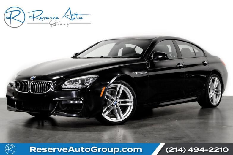 2015 BMW 6 Series 640i M-Sport Executive Pkg Lighting Pkg Sport Edition Pkg The Colony TX