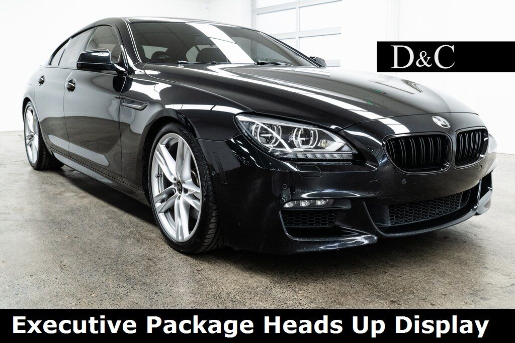 2015 BMW 6 Series 650i xDrive Gran Coupe M Sport Executive Package Heads Up Display Portland OR