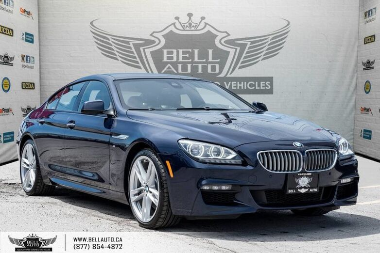 2015 BMW 6 Series 650i xDrive, M PKG, NAVI, BACK-UP CAM, SUNROOF, PUSH START Toronto ON