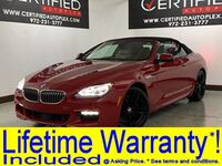 BMW 650i XDRIVE CONVERTIBLE M SPORT PKG EXECUTIVE PKG DRIVER ASSISTANCE PLUS PKG COL 2015