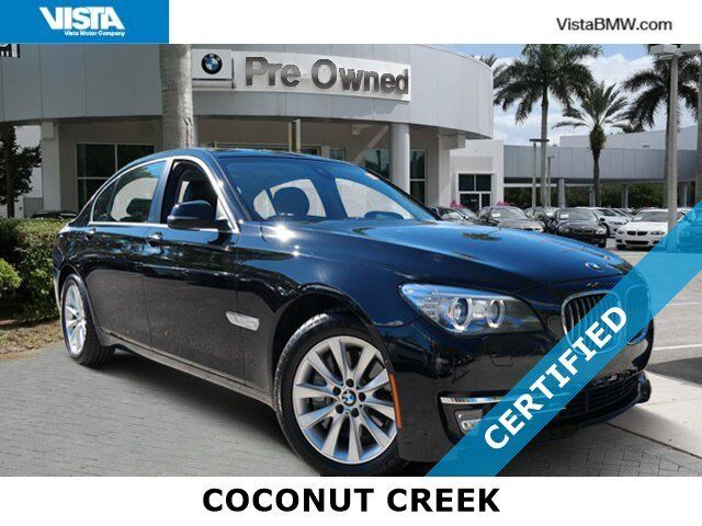 2015 BMW 7 Series 740Li Coconut Creek FL