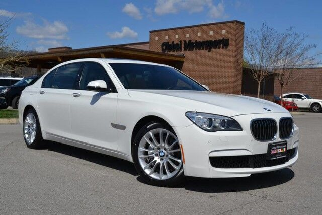 2015 BMW 7 Series 740Li xDrive/All Wheel Drive/M Sport Pkg/Executive Pkg/Head Up Display/Heated&Cooled Seats/Multi Contour Seats/HK Sound/Loaded Nashville TN