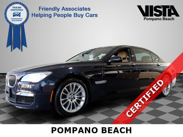 2015 BMW 7 Series 740Li xDrive Pompano Beach FL