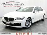 2015 BMW 7 Series 750Li xDrive 4.4L 32V Twin-Turbo AWD xDrive M-Sport Package w/ Navigation, Front and Rear Parking Aid with Rear View Camera, Sunroof, 9-speaker Hi-fidelity Sound System & Driver Assistance Plus Package