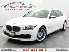 BMW 7 Series 750Li xDrive 4.4L 32V Twin-Turbo AWD xDrive M-Sport Package w/ Navigation, Front and Rear Parking Aid with Rear View Camera, Sunroof, 9-speaker Hi-fidelity Sound System & Driver Assistance Plus Package Addison IL