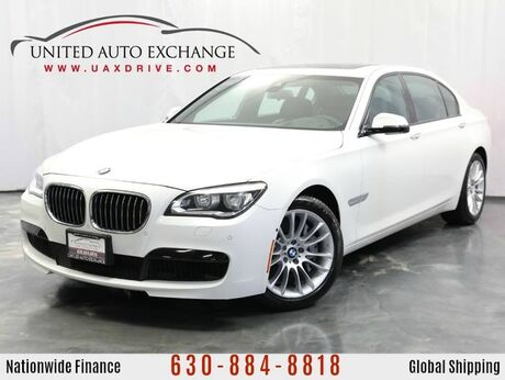 2015 BMW 7 Series 750Li xDrive 4.4L 32V Twin-Turbo AWD xDrive M-Sport Package w/ Navigation, Front and Rear Parking Aid with Rear View Camera, Sunroof, 9-speaker Hi-fidelity Sound System & Driver Assistance Plus Package Addison IL