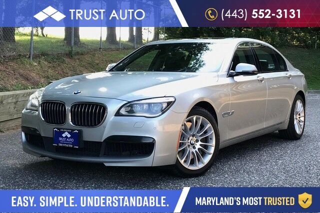 2015 BMW 7 Series 750Li xDrive Sykesville MD