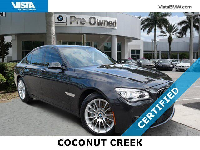 2015 BMW 7 Series 750i Coconut Creek FL