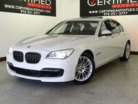 BMW 740Li xDrive M SPORT PKG SPORT PKG EXECUTIVE PKG COLD WEATHER PKG HEADS UP DISPLAY 2015