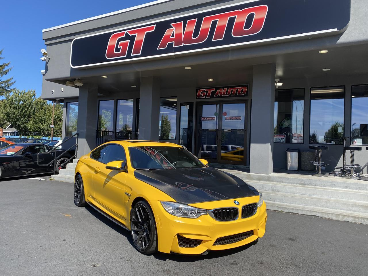 2015 BMW M series *M4 Coupe Performance Wrapped* Puyallup WA