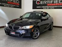 BMW M235 M235i COUPE SUNROOF POWER LEATHER SEATS KEYLESS GO REAR A/C HEATED POWER FO 2015