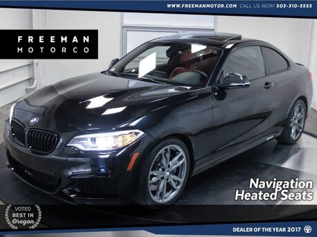 2015_BMW_M235i_Comfort Access Back-Up Cam Heated Seats_ Portland OR