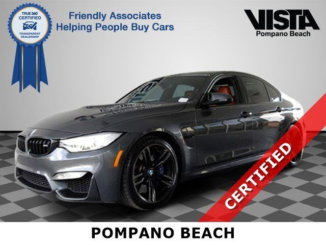 2015 BMW M3 Base Pompano Beach FL