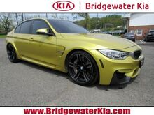 2015_BMW_M3_Sedan, Driving Assistance Plus, Executive & Lighting Package, Navigation, Head-Up Display, Harman Kardon Surround Sound, Adaptive M Suspension, Carbon Ceramic Brakes, 19-Inch Alloy Wheels,_ Bridgewater NJ