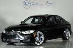 2015 BMW M3 Sedan Lighting Package Adaptive M Suspension