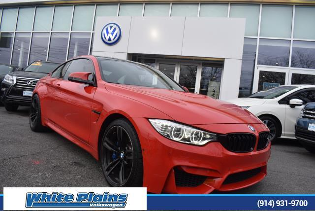 2015 BMW M4 2dr Cpe White Plains NY