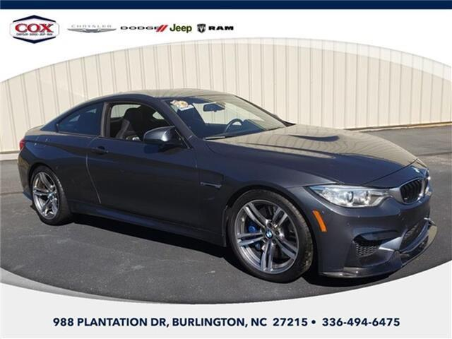 2015 BMW M4 Base Rear-wheel Drive Coupe Burlington NC