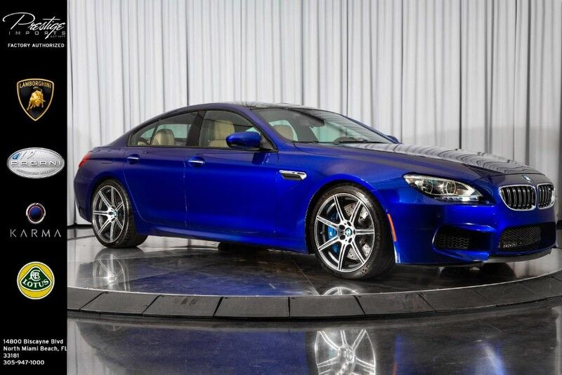 2015_BMW_M6__ North Miami Beach FL