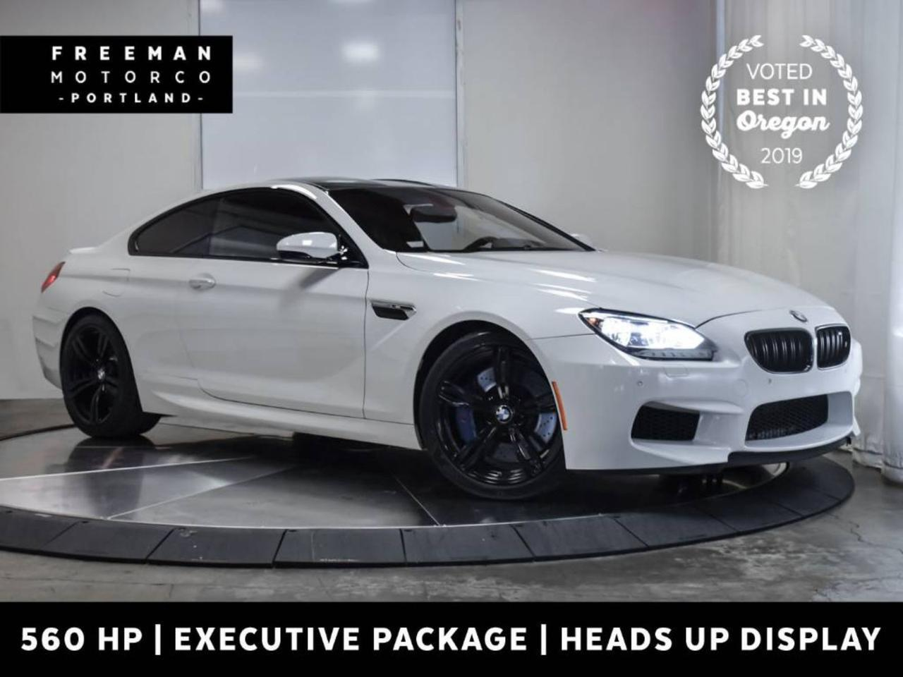 2015 BMW M6 Coupe 560 HP Head-Up Display Climate Seats