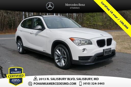 2015_BMW_X1_sDrive28i ** Pohanka Certified 10 year / 100,000 **_ Salisbury MD