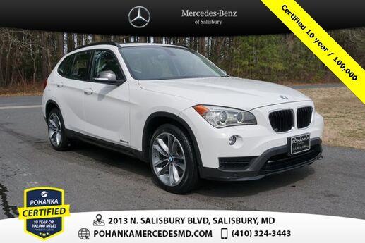2015 BMW X1 sDrive28i ** Pohanka Certified 10 year / 100,000 ** Salisbury MD