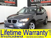 BMW X1 sDrive28i DRIVER ASSISTANCE PKG TECHNOLOGY PKG NAVIGATION SUNROOF LEATHER 2015